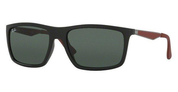RAY-BAN Herren Sonnenbrille » RB4228« in 622871 - schwarz/grün