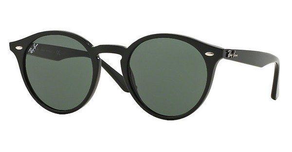 RAY-BAN Herren Sonnenbrille » RB2180« in 601/71 - schwarz/grün
