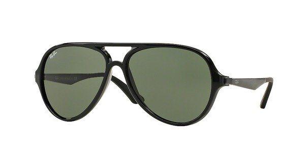 RAY-BAN Herren Sonnenbrille » RB4235« in 601 - schwarz/grün