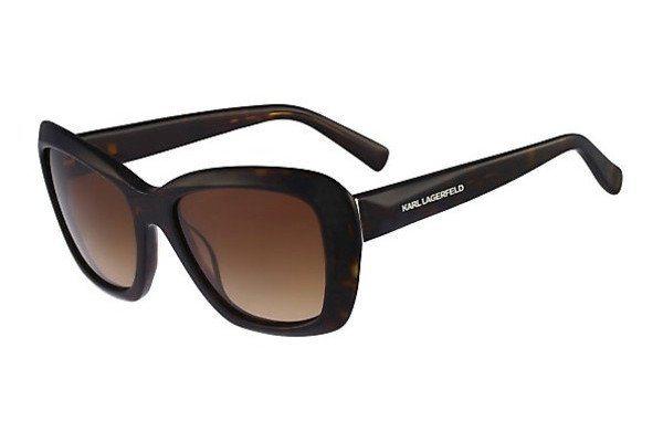 KARL LAGERFELD Damen Sonnenbrille » KL832S« in 013 -  havana