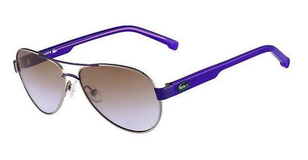 Lacoste Kinderbrillen Sonnenbrille » L3103S« in 033 - gunmetal/braun