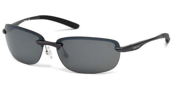 Timberland Herren Sonnenbrille » TB9051« in 09D - schwarz/grau