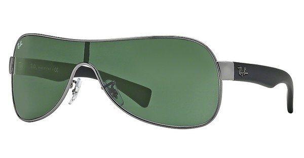 RAY-BAN Herren Sonnenbrille » RB3471« in 004/71 - grau/grün