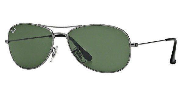 RAY-BAN Herren Sonnenbrille »COCKPIT RB3362« in 004 - grau/grün