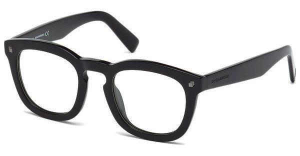 Dsquared² Sonnenbrille » DQ0198« in 001 - schwarz