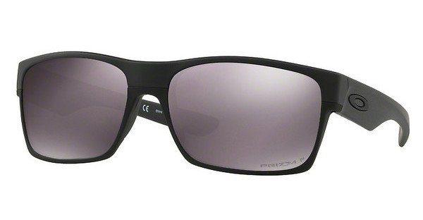 Oakley Herren Sonnenbrille »TWOFACE OO9189«, schwarz, 918930 - schwarz/silber