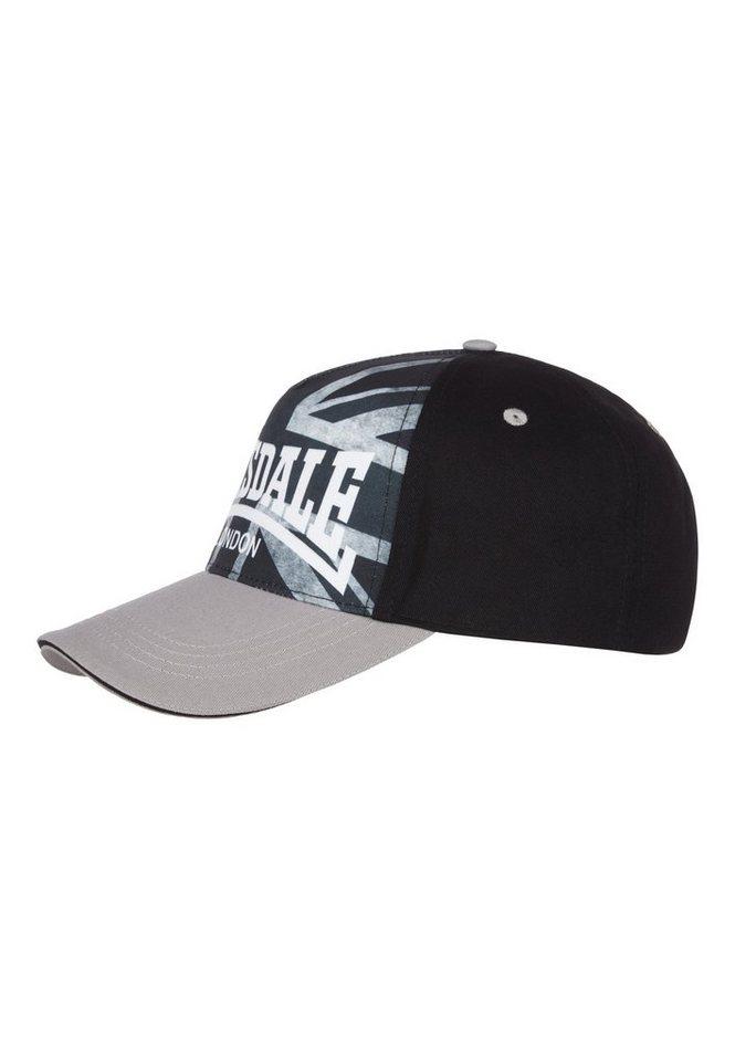 Lonsdale Cap »GRASMERE« in Black/Grey