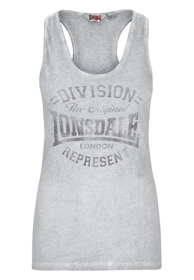 Lonsdale Top »HOLYWELL« in Dark Grey