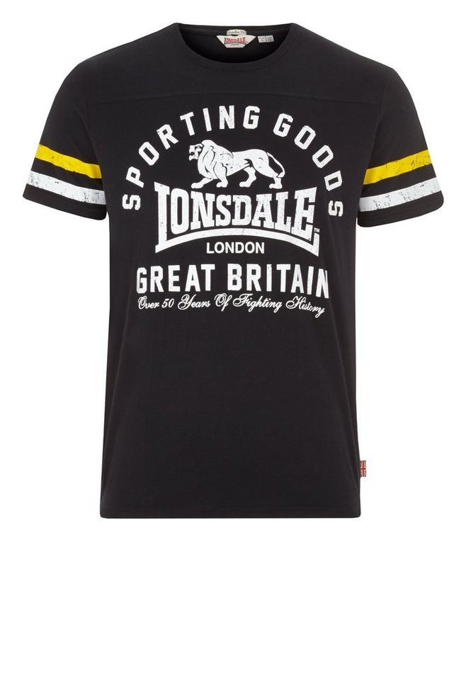 Lonsdale T-Shirt »KENDAL« in Black