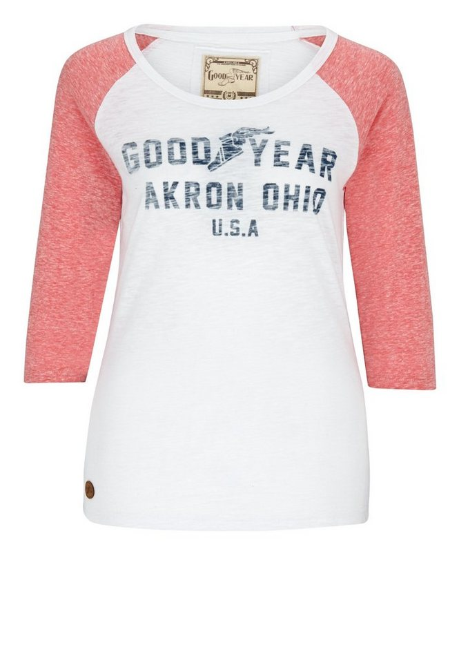 Goodyear Sweatshirt SYLVA »SYLVA« in Off White