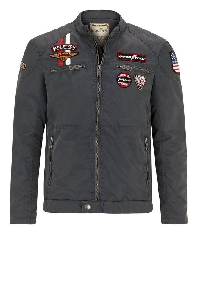 Goodyear Jacke MONAHANS »MONAHANS« in Mouse Grey