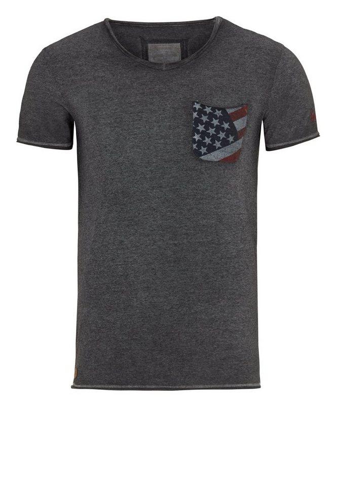 Goodyear T-Shirt in grau