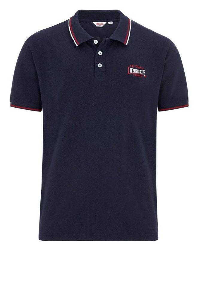 Lonsdale Poloshirt »BURTON« in Dark Navy
