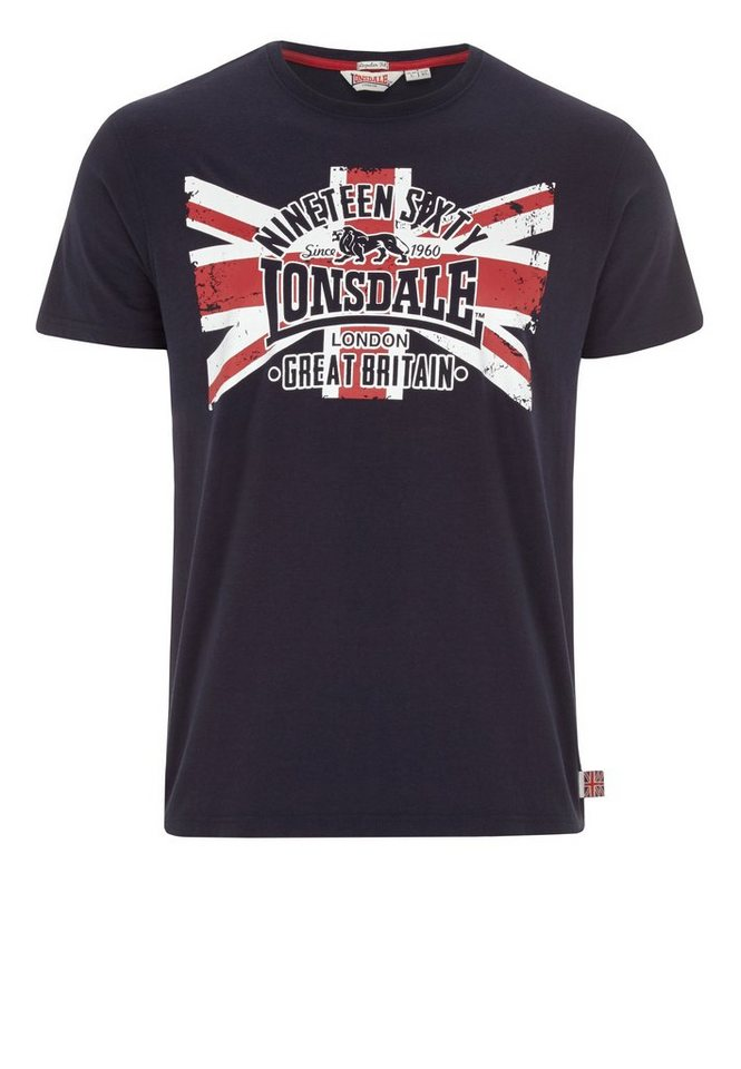 Lonsdale T-Shirt BRIGG »BRIGG« in Dark Navy