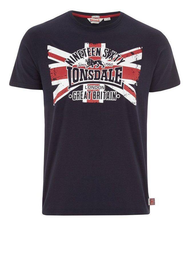 Lonsdale T-Shirt »BRIGG« in Dark Navy
