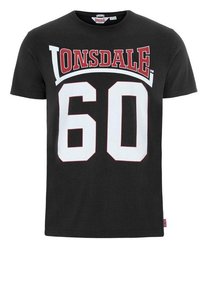 Lonsdale T-Shirt »OLNEY« in Black