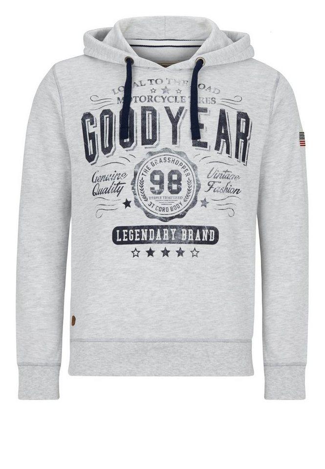 Goodyear Sweatshirts »JACKSBORO« in Marl Grey