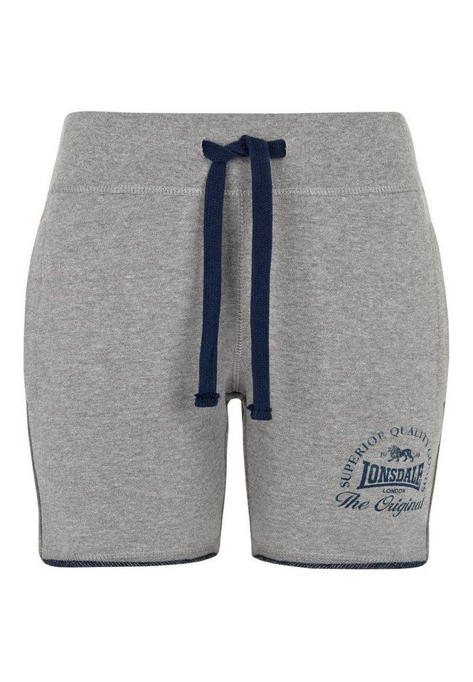 Lonsdale Short in Marl Grey