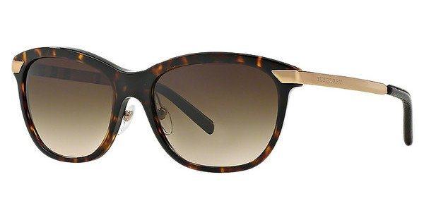 Burberry Damen Sonnenbrille » BE4169Q« in 300213 - braun/braun
