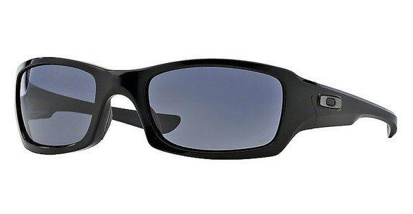 Oakley Herren Sonnenbrille »FIVES SQUARED OO9238« in 923804 - schwarz/grau