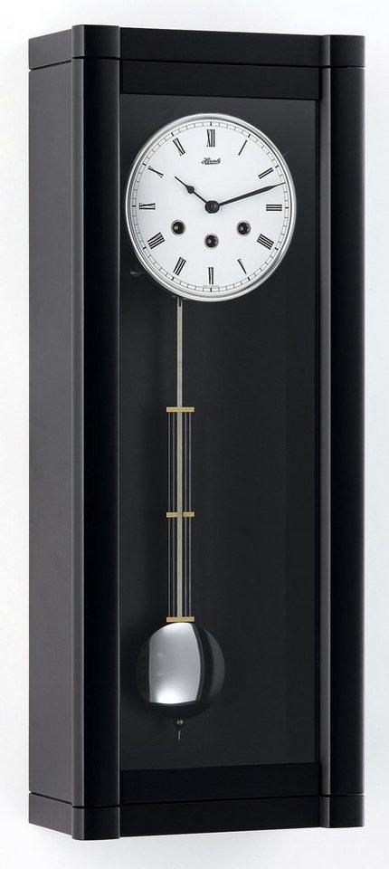 Hermle Pendel-Wanduhr, »70963-740141« in schwarz