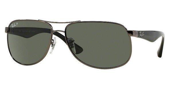 RAY-BAN Herren Sonnenbrille » RB3502« in 004/58 - grau/grün