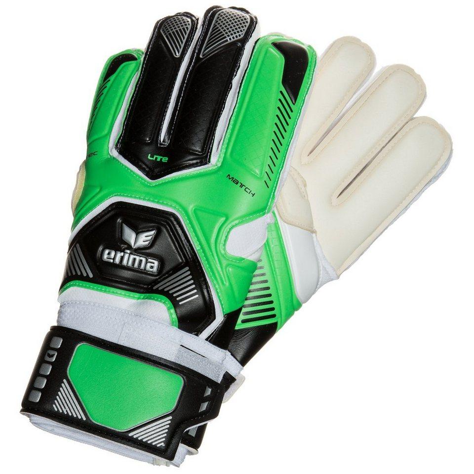 ERIMA Tec Lite Match Torwarthandschuhe in green/schwarz