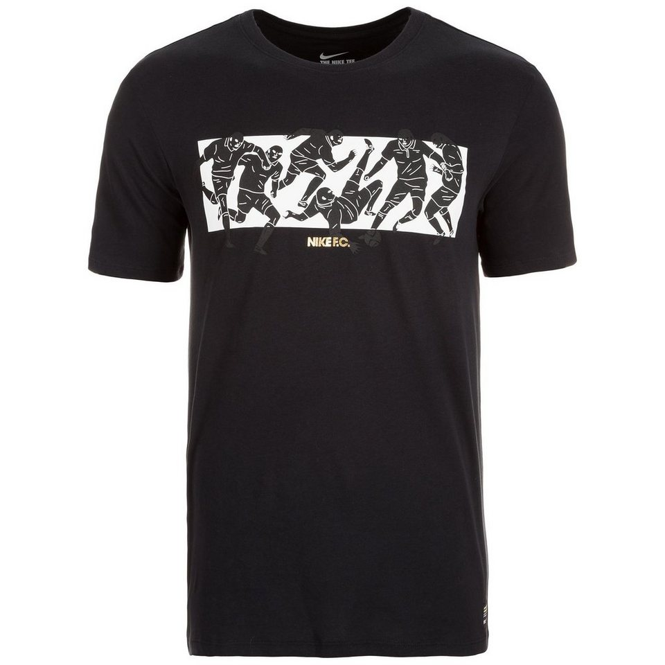 Nike Sportswear F.C. Six a Side T-Shirt Herren in schwarz