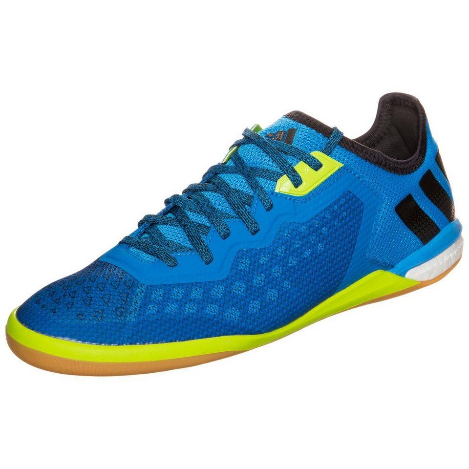 adidas Performance ACE 16.1 Court Limited Fußballschuh Herren in blau / schwarz