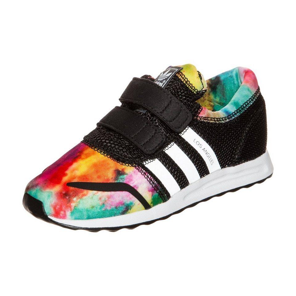 adidas Originals Los Angeles Sneaker Kleinkinder in schwarz / weiß