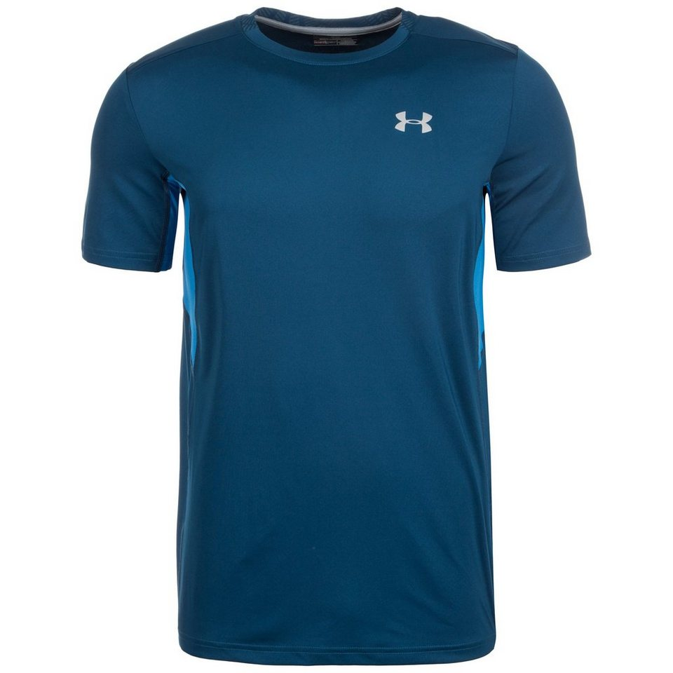 Under Armour® HeatGear CoolSwitch Run Laufshirt Herren in dunkelblau / blau