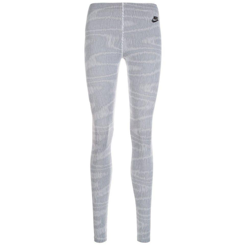 Nike Sportswear Leg-A-See Printed Legging Damen in schwarz / weiß