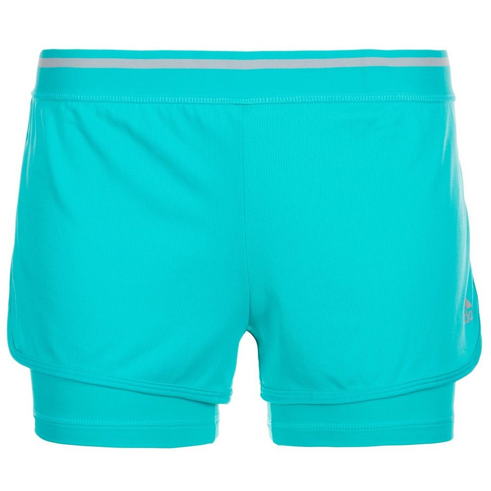 adidas Performance ClimaChill Trainingsshort Damen in türkis
