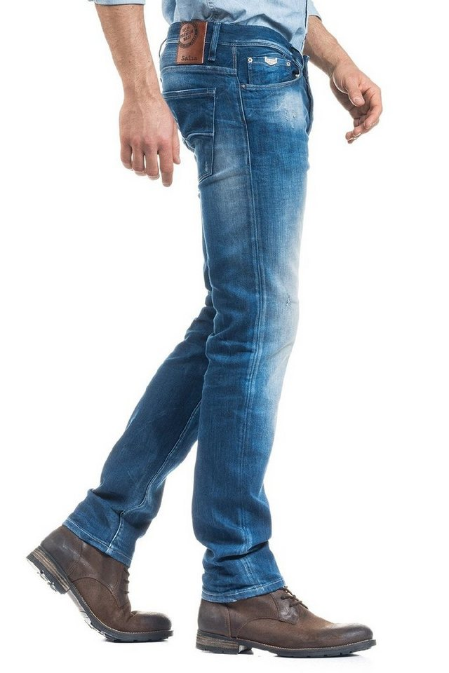 salsa jeans Jean »Slim/ Blaze« in Blue