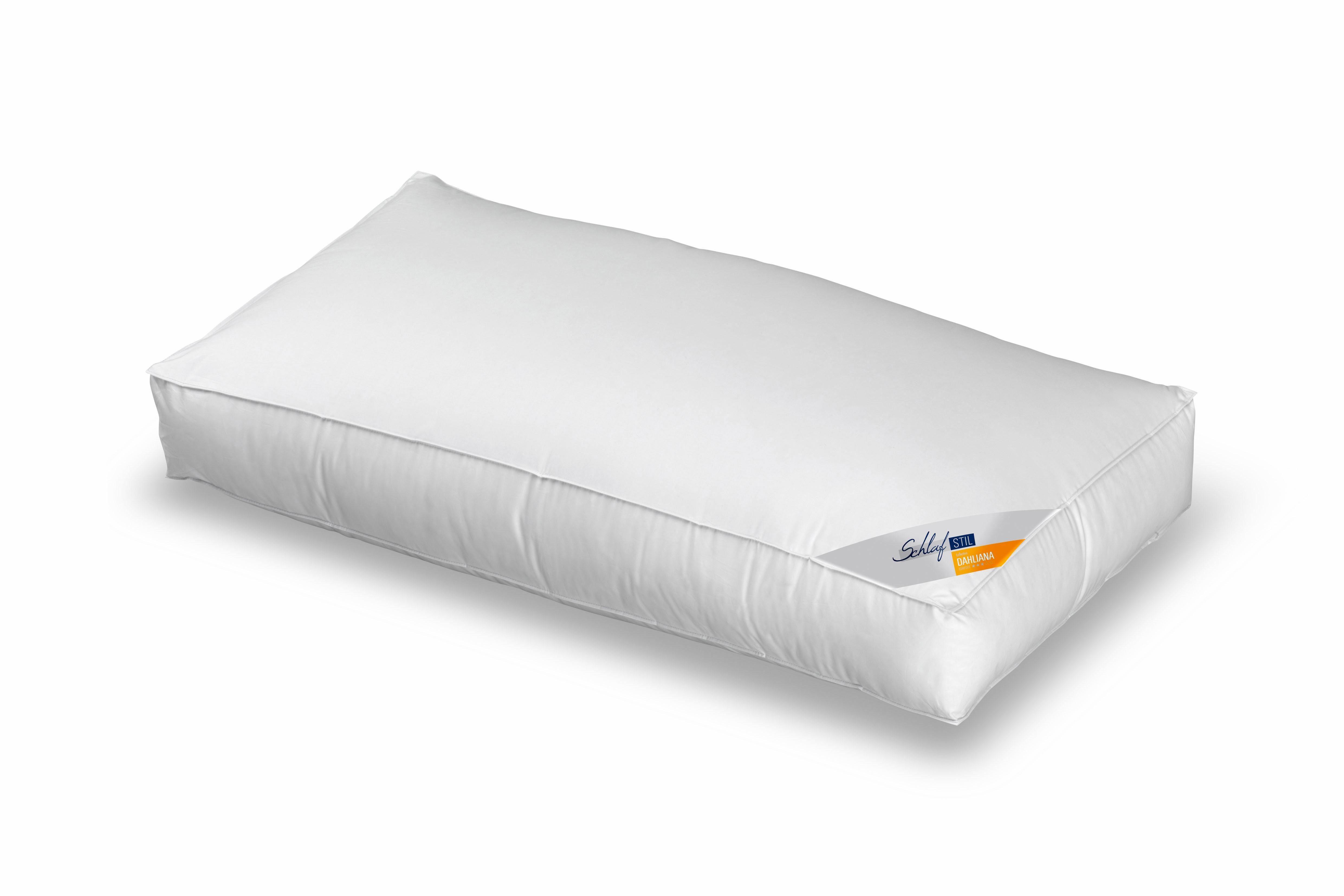 Nackenstützkissen, »Dahliana, 6 cm hoher Außensteg«, Schlafstil