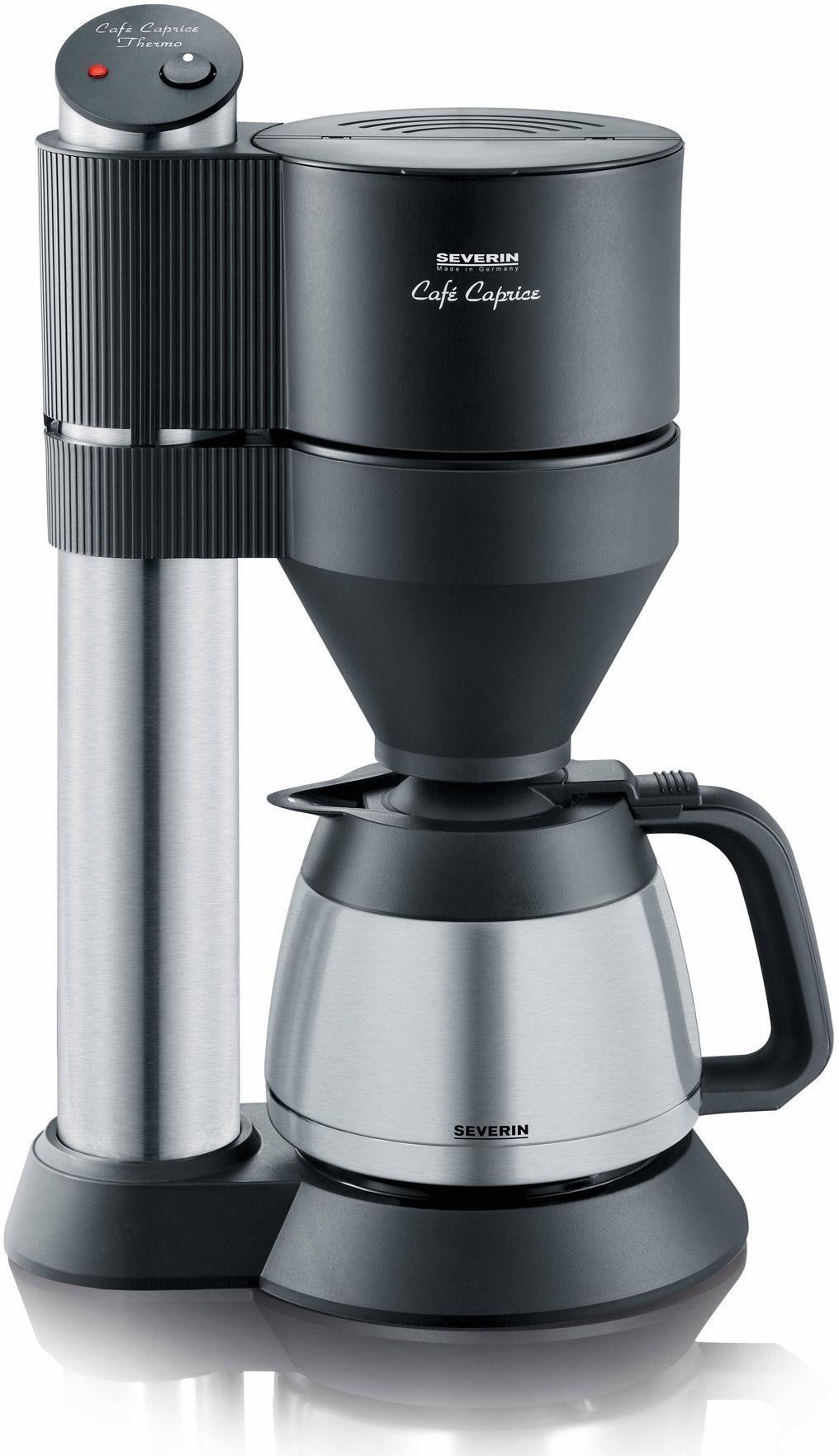Severin Filterkaffeemaschine Café Caprice KA 5743, 1l Kaffeekanne, Papierfilter 1x4