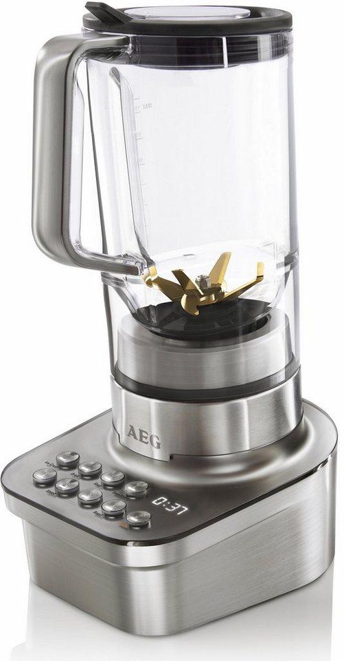 AEG Standmixer Gourmet Pro SB 9300, 1200 Watt, edelstahl in Edelstahl