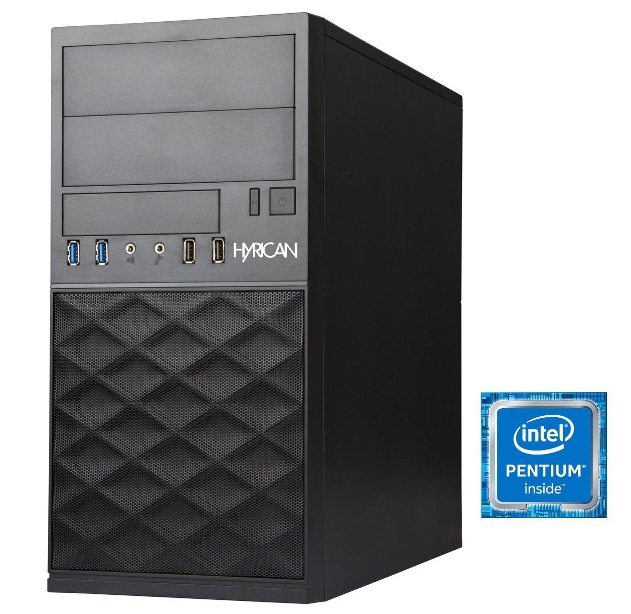 Hyrican Business PC Intel® Pentium® G4500, 8GB RAM, 240GB SSD »Business PC CTS00346«