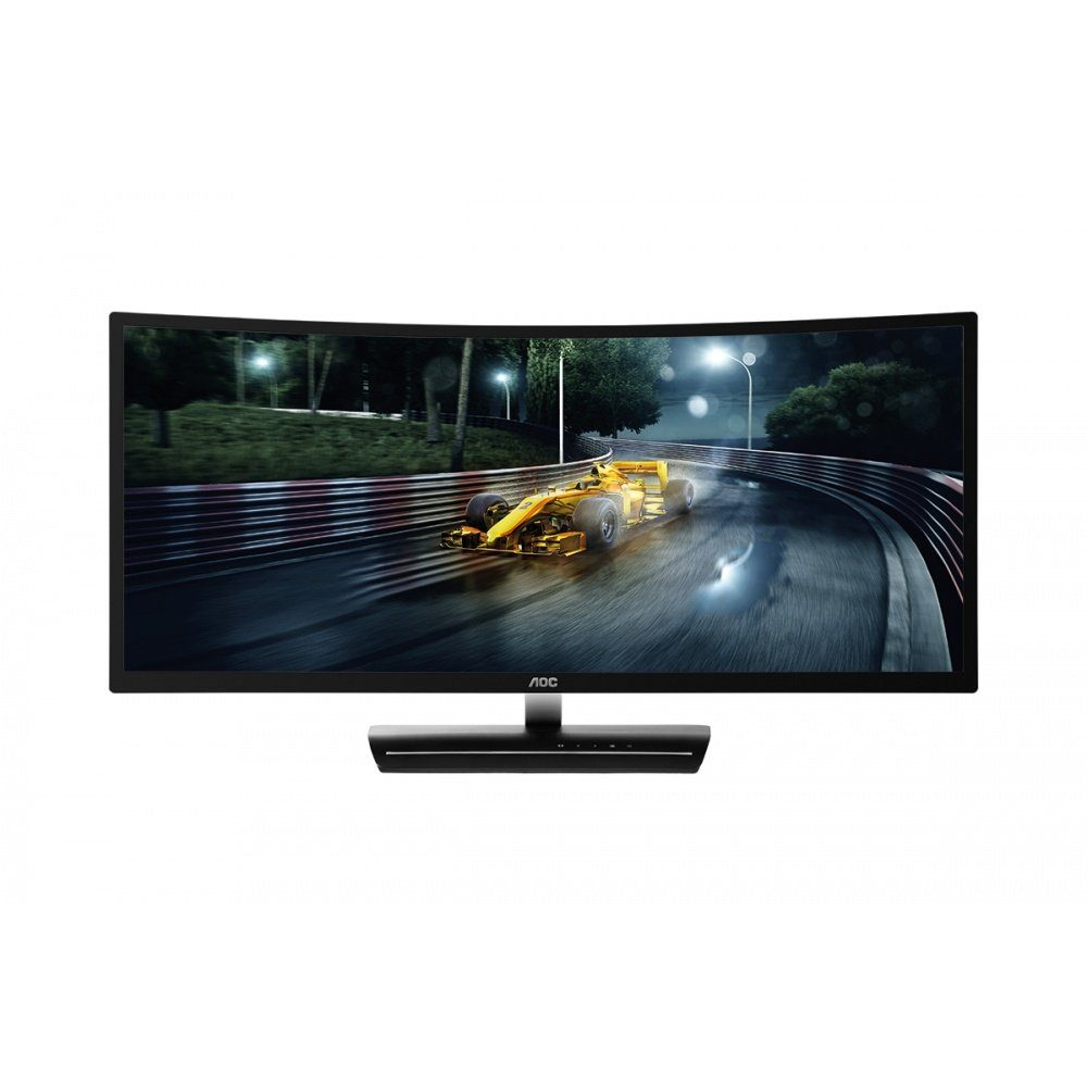 AOC Monitor, 88,98 cm (35 Zoll), FreeSync, MVA - DP, HDMI, DVI »C3583FQ«