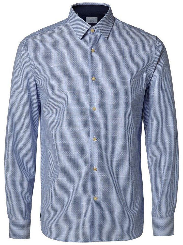 Selected Regular-Fit- Hemd in Light Blue