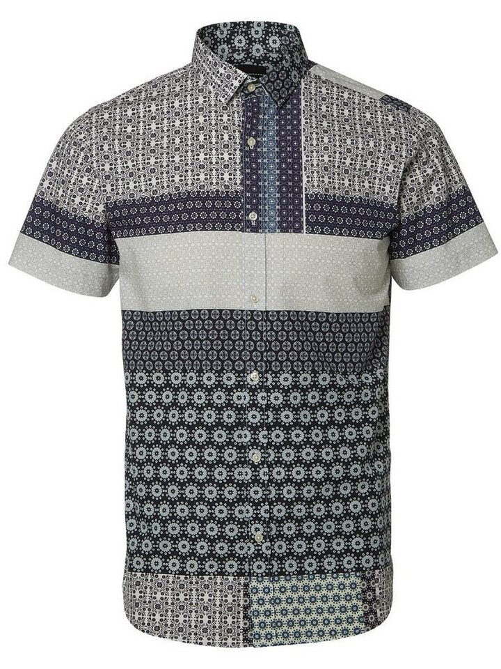 Selected Slim-Fit- Hemd in Navy Blazer