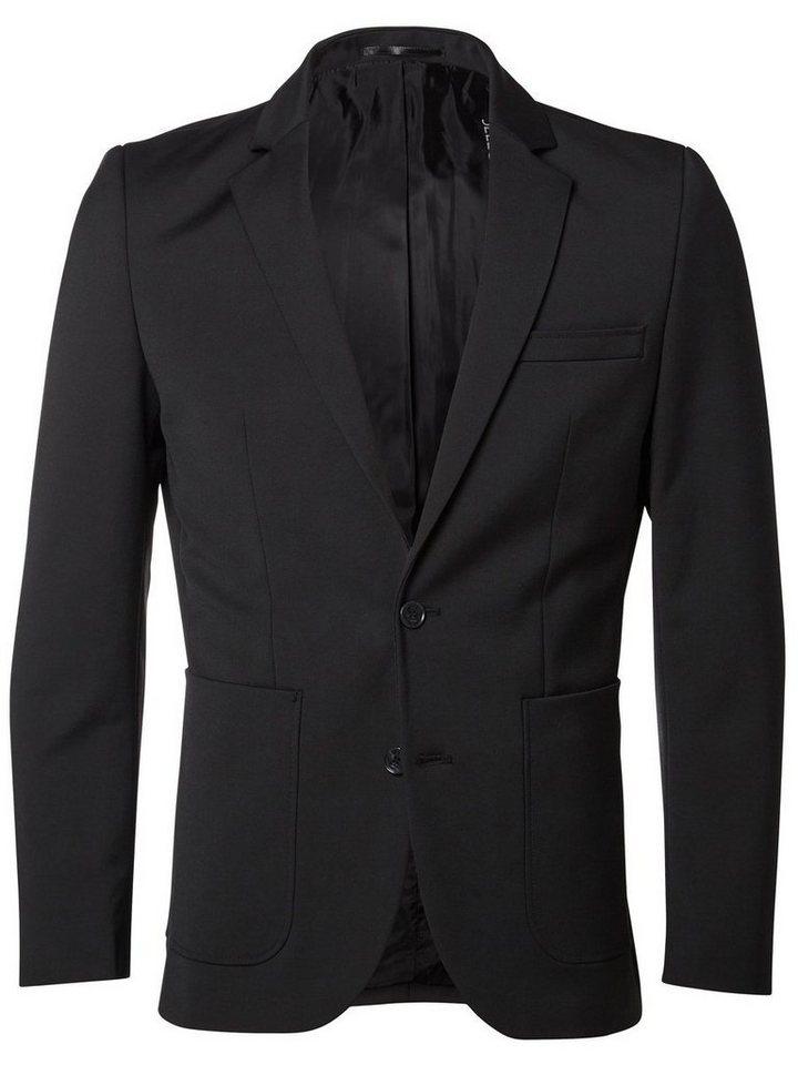 Selected Slim-Fit- Blazer in Black