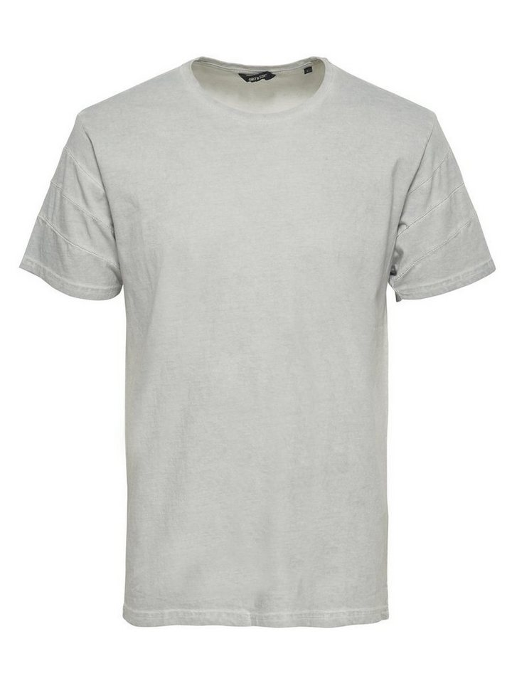 ONLY & SONS Detailliertes T-Shirt in Griffin