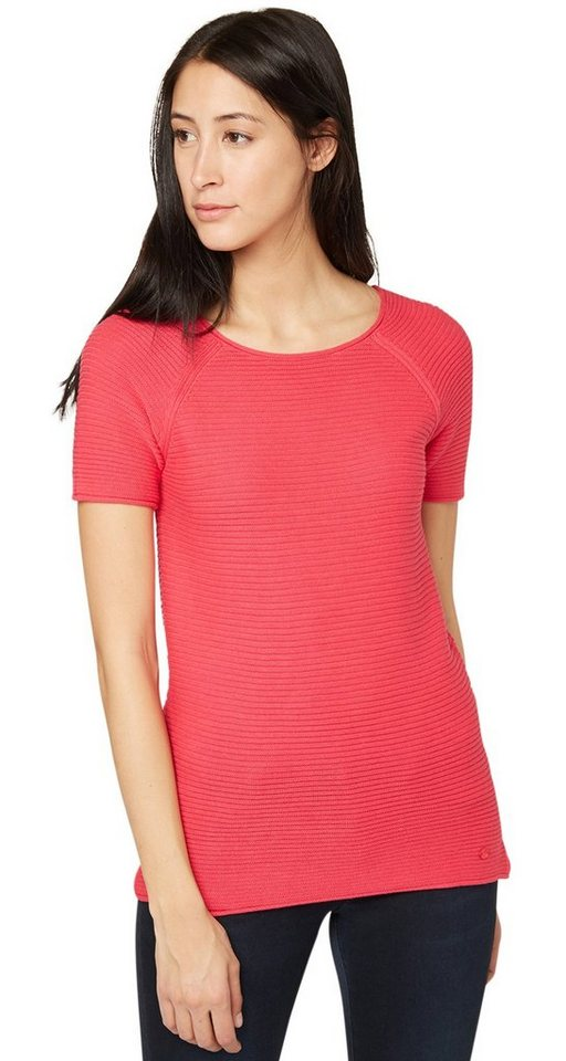 TOM TAILOR Pullover »ribbed sweater« in blushing pink