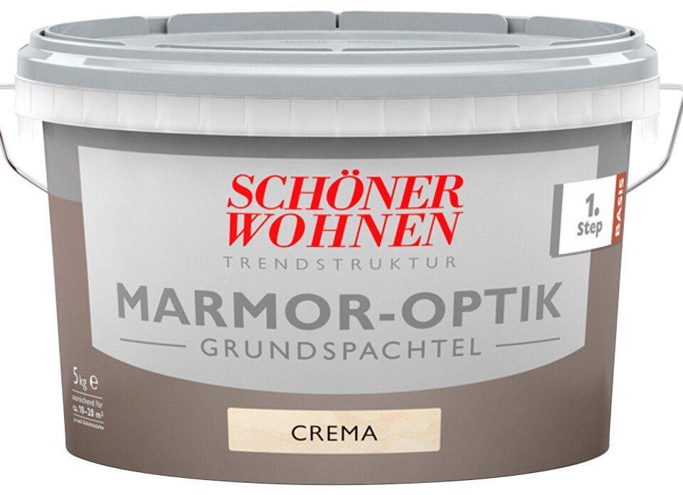 Schöner Wohnen Farbe Grundspachtel »Marmoroptik 5,0Kg Basis abtönbar«