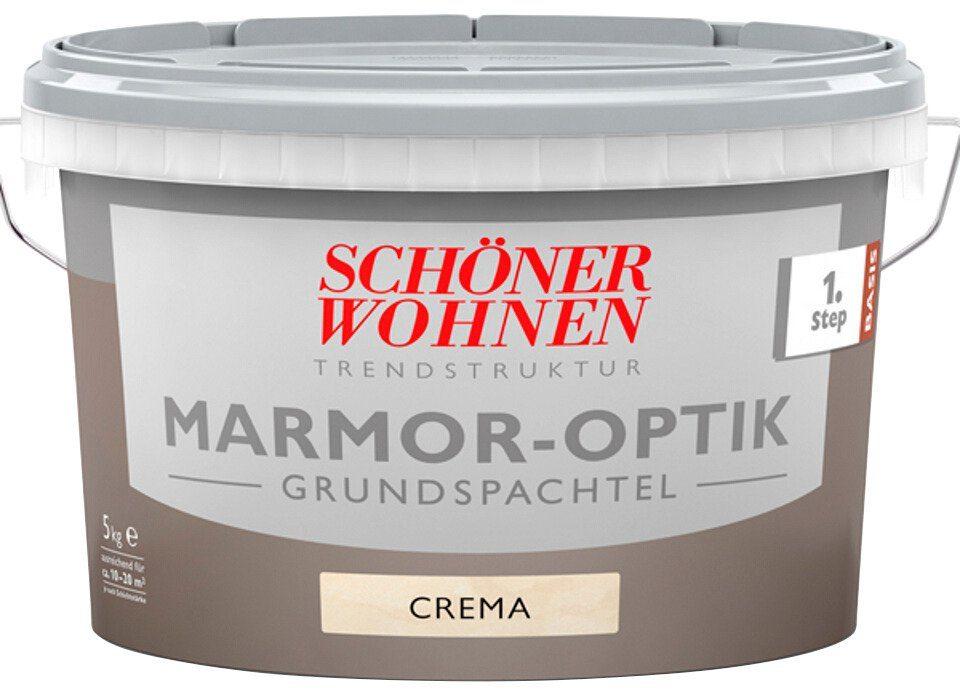 Schöner Wohnen Farbe Grundspachtel »Marmoroptik 5,0Kg crema«