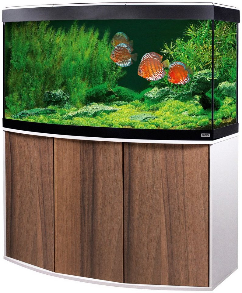 FLUVAL Aquarien-Set »Vicenza 260« in braun/weiß