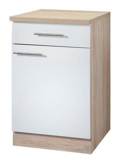 Küchenunterschrank »Montana, Breite 60 cm« in weiß