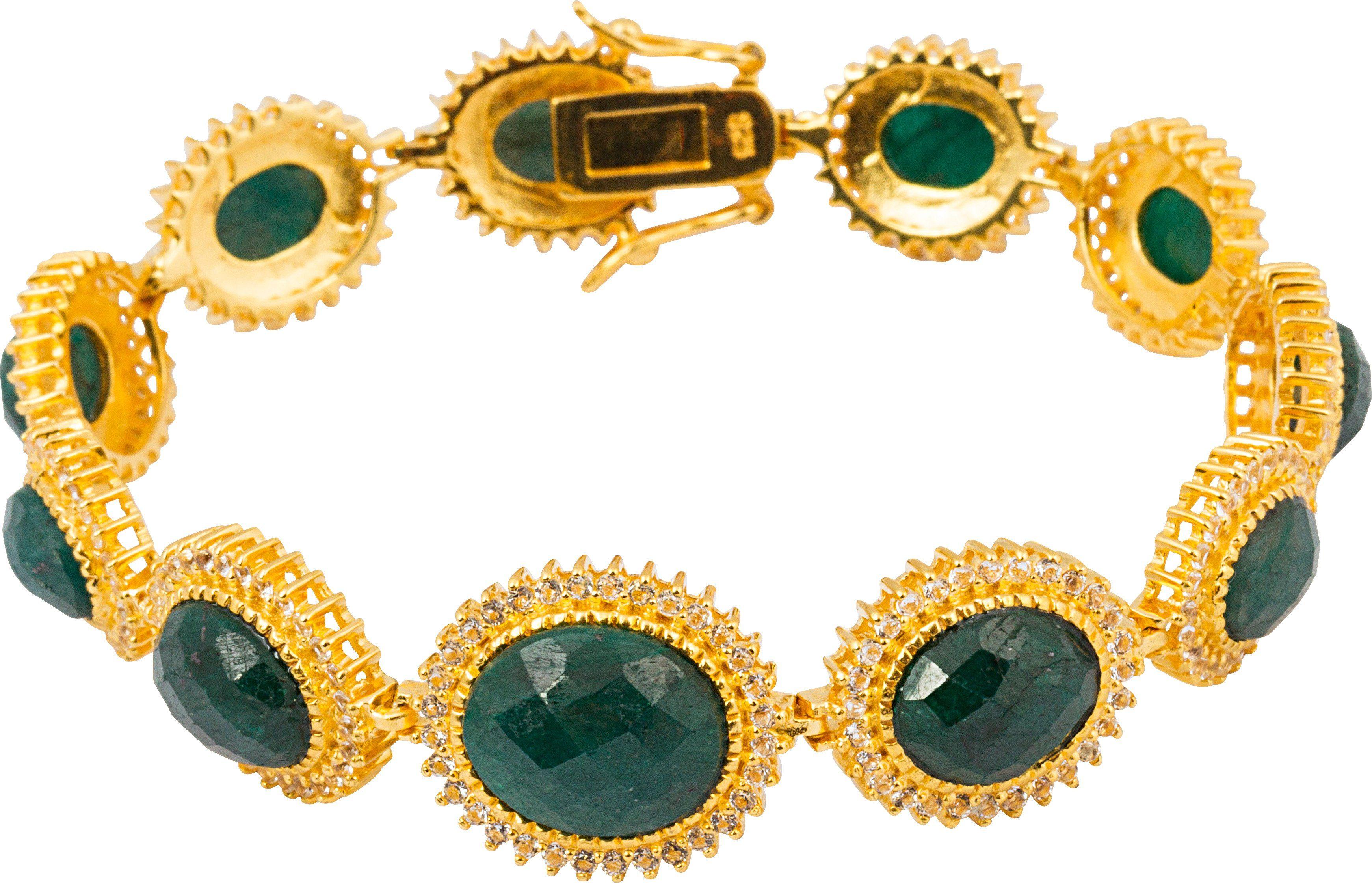 vivance jewels mit Korunden und Topasen