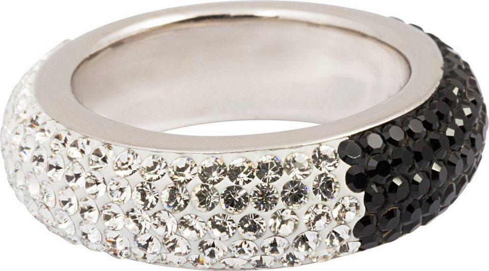 firetti Ring mit Swarovski® Kristallen in Silber 925